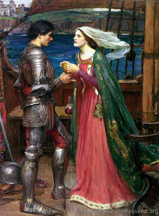 Tristan and Isolde with the Potion