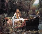 John William Waterhouse : The Lady of Shalott