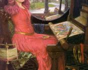 John William Waterhouse : I am Half-sick of Shadows, said the Lady of Shalott