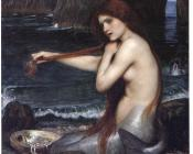 John William Waterhouse : A Mermaid