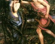 John William Waterhouse : Apollo and Daphne