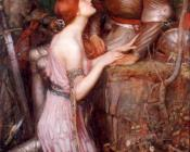 John William Waterhouse : Lamia II
