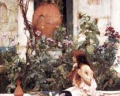 John William Waterhouse : At Capri