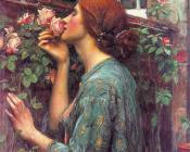John William Waterhouse : My Sweet Rose