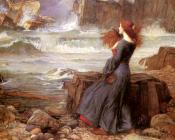 John William Waterhouse : Miranda, The Tempest